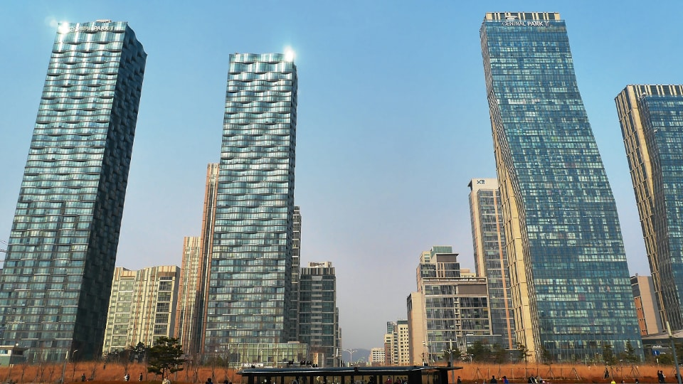 "The digitised ""Smart City"" of Songdo in South Korea"